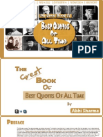The Great Book of Best Quotes of All Time.