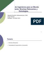 CDIO- Brechas y Estrategias - Jyf - Abril 2013