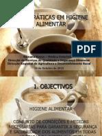 Higiene Alimentar Cafetaria-Bar