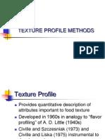 L15 Texture Profile Analysis