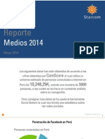 Reporte Medios 2014