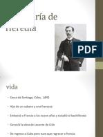 José María de Heredia