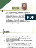 Socratic Seminar Instructions