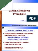 Turbine Shutdown
