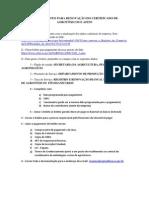 PROCEDIMENTO PARA RENOVAÇÃO DO CERTIFICADO DE AGROTÓXICOS E AFINS.docx
