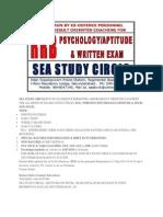 Sea Study Circle
