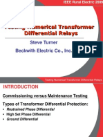 b6 Testing Numerical Transformer Differential Relays Ieee1173