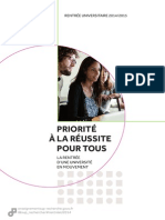 DossierPresse Rentrée Universitaire 2014