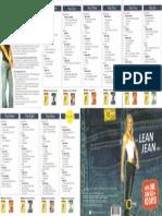 The Lean Jean Plan