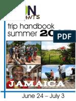 Son Servants Jamaica Handbook- 2015
