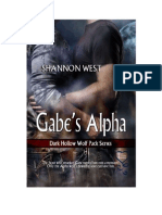 Shannon West - Dark Hollow Wolf Pack 04 - Gabe's Alpha