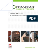 Roofing Solutions for Cold Formed Steel Construction