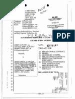 Kupcinet v. Cohen - Judge Faith Lawsuit