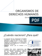 Los Organismos de Derechos Humanos en Nuestros Días 2