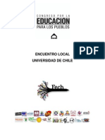 Encuentro Local UCh Congreso Educativo