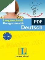 Langenscheid Kurzgrammatik Deutsch