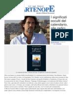 I Significati Occulti del Calendario.   Il libro di Maurizio Ponticello su Partenope.org