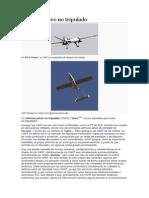 Vehículo Aéreo No Tripulado