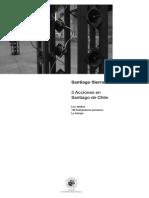 Tres Acciones en Santiago de Chile, Santiago de Chile, Ediciones Universidad Diego Portales, 2012