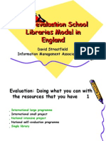 School Libraries Self-evaluation Stretfield