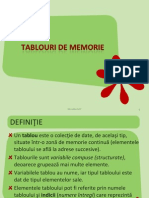Tablouri de Memorie