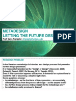 Metadesign. Letting the Future Design
