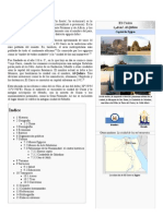 El Cairo - Wikipedia, La Enciclopedia Libre
