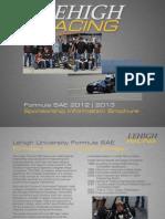 Lehigh Sponsorship Packet 2012