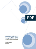 España y América en Los Siglos XVI y XVII Trabajo