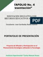 Portafolio 4 (Presentación)