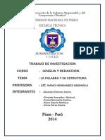 TRABAJO de Lengua y Redaccion Melissa Risco Osorio