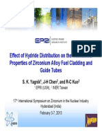 7.1 Yagnik Effect of Hydride Distribution