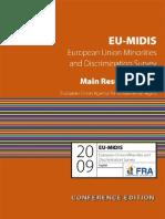 Etude FRA discriminations minorités en Europe - dec 2009