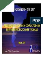 Charla 1 EXPO HORMIGON ICH 2007 - Reduccion de Conflictos (Juan Pablo Covarrubias).pdf