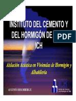 Charla EXPO HORMIGON ICH 2007 - Aislación Acústica (Augusto Holmberg).pdf