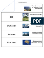 landforms study guide