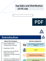 ITC Sales and Distribution Network