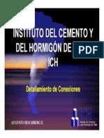 Charla EXPO HORMIGON ICH 2007 - Conexiones En Estructuras Prefabricadas (Augusto Holmberg).pdf