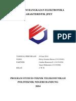 Laporan Karakteristik JFET