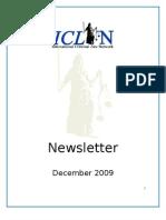 ICLN Newsletter December 2009