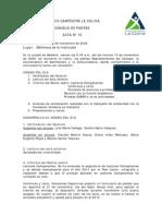 Acta 10 - 2009 Consejo de Padres