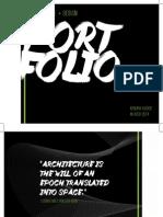 Portfolio (optimized for  2-sided print)
