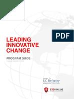Leading Innovative Change - Program Guide