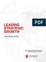 Leading Strategic Growth - Program Guide