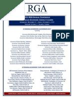 2011 Annual Conference Agenda