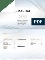 Manual de uso para Samsung  D5000 Serie 5 SMART TV