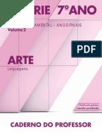 CadernoDoProfessor 2014 2017 Vol2 Baixa LC Arte EF 6S 7A