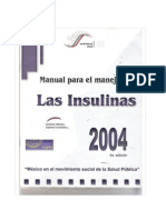 Manual Para El Manejo de Insulina