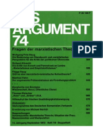 Das Argument 74