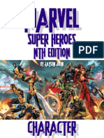 Marvel Nth Character Book